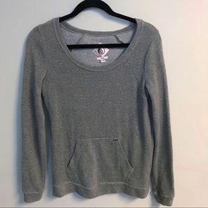 Volcom green sweater